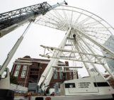 The Giant Ferris Wheel Is Almost Finished