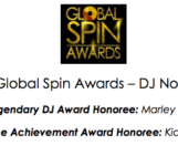 GLOBAL SPIN AWARDS: THE NOMINATIONS ARE IN…..