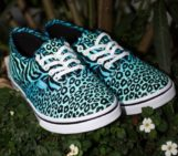 Vans Authentic Lo Pro Cheetah Zebra