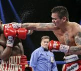 Adrien Broner Knocked Down By Marcos Maidana