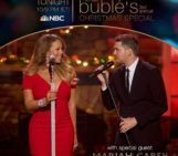 Tune in to see Mariah's special performances tonight!! on Michael Buble's Christmas Special at 10/9c PM on NBC!