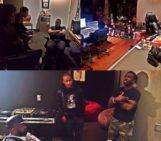 Jermaine Dupri,Bryan Cox X EMI Writing Camp With @iamnovel @nastasiagriffin @tamilatrell @davidwade_ @reek_ivan @guordan @atozzio