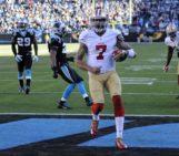 Kaepernick lifts 49ers over Panthers 23-10