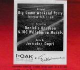 TONIGHT !! TONIGHT !!! NEW YORK CITY IM @1OAKNY WITH @DanielleKn1 And 100 @Wilhelmina Models