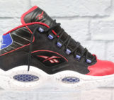Reebok Question Red Black Royal Speckle
