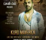 Kurd Maverick Tomorrow Night In Dubai At Cavalli Club
