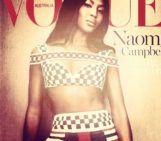 Naomi Campbell gets her own special cover of Vogue Australia at 43