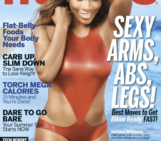 Serena Williams covers FITNESS Magazine