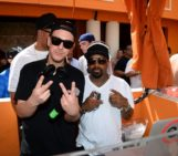 Eric D-Lux and Jermaine Dupri at TAO Beach Pool Party. Photo: via Magnetic PR / by Al Powers/Powers Imagery