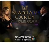#MeiamMariah prime time special is airing tomorrow on NBC at 8 pm!