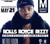This WED ATL @RollsRoyceRizzy Signing Party @sosodef / RCA at @MetroFuxon