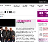 20th ESSENCE FESTIVAL,SUNDAY JULY 6TH JAGGED EDGE #SUPERLOUNGE