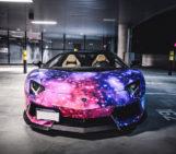 "Lamborghini Aventador ""Galaxy"" by DXSC"