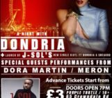 A night with Dondria (@Dondria) in London