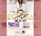 Tommorrow LA Dondria (@Dondria) BET Awards After Party