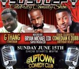 Tonight ATL !!  G-Thang (@2Gthang) & K Dubb (@comediankdubb) At Uptown Comdey Corner