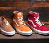 Vans California Collection Floral Suede Pack
