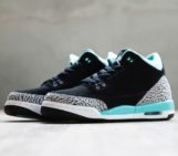 Air Jordan 3 GS Black Mint Cement Grey