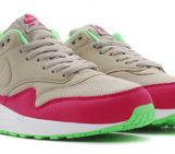 Nike Air Max 1 Bamboo Fuchsia Force Poison Green