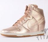 Nike Dunk Sky Hi Metallic Bronze