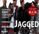 JAGGED EDGE ON THE COVER  OF AMN MAGAZINE!