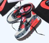 atmos x Nike Air Max 90 Bleached Denim