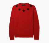 Givenchy Star Trimmed Wool Sweaters
