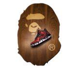 Air Jordan 3 Bape x Ice Cream by JBF Customs