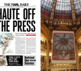 Karl Lagerfeld Becomes A Newspaper Publisher With The Karl Daily