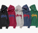 """Stussy x Champion Japan Fall/Winter 2014 """"Reverse Weave"""" Collection"""
