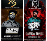 VegasBaby!!! October 27 @xslasvegas October 31st Halloween night @trystnightclub