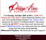 """Debbie Allen on OWN's """"Where Are They Now?"""""""