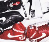 Supreme x Nike Air Force 1 High Collection