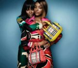 Naomi Campbell and Jourdan Dunn Front Burberry's S/S 2015 Campaign