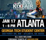 ATL Kixfair Saturday At GA Tech Student Center