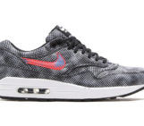 Nike Air Max 1 FB QS Black Bright Crimson White Blue Lagoon
