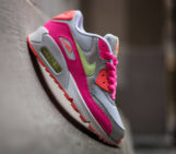 Nike Air Max 90 Pure Platinum Liquid Lime Pink