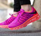 Nike Women's Air Max 2015 Fuchsia Flash Hot Lava