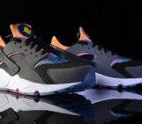 Nike Air Huarache Black Rainbow Neoprene