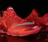 Nike LeBron 12 Low University Red