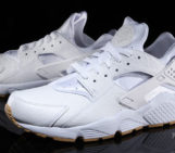 Nike Air Huarache With Ostrich Leather and Gum Soles