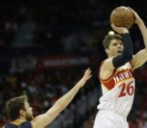 Kyle Korver out for the remainder of the playoffs