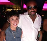 Jermaine Dupri & Quincy Combs at FDR Mondays