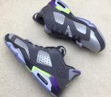 Air Jordan 6 Low Grey Purple Neon