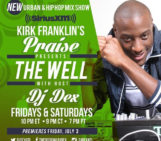 @Global14TheCut With Special Guest @DJdexatl of @Kirkfranklin's The Well on @siriusxm