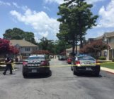 Police say three teens were shot and one of them died in East Point Monday afternoon.
