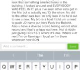 Dope message I received Yesterday from @twistello_t about my set @trystnightclub