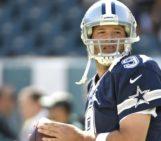Tony Romo fractures collarbone