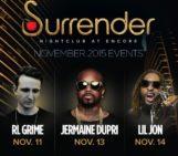Join the party at #SurrenderVegas this week w/ @RLGRIME @JermaineDupri @LilJon