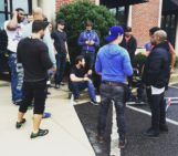 """ON THE SET """"THE RAP GAME"""""""